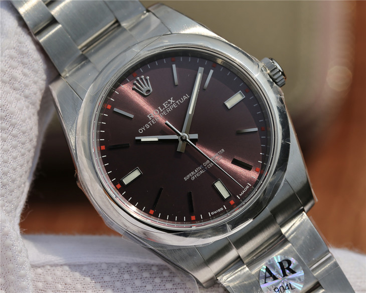 Rolex Oyster Perpetual Grape Dial