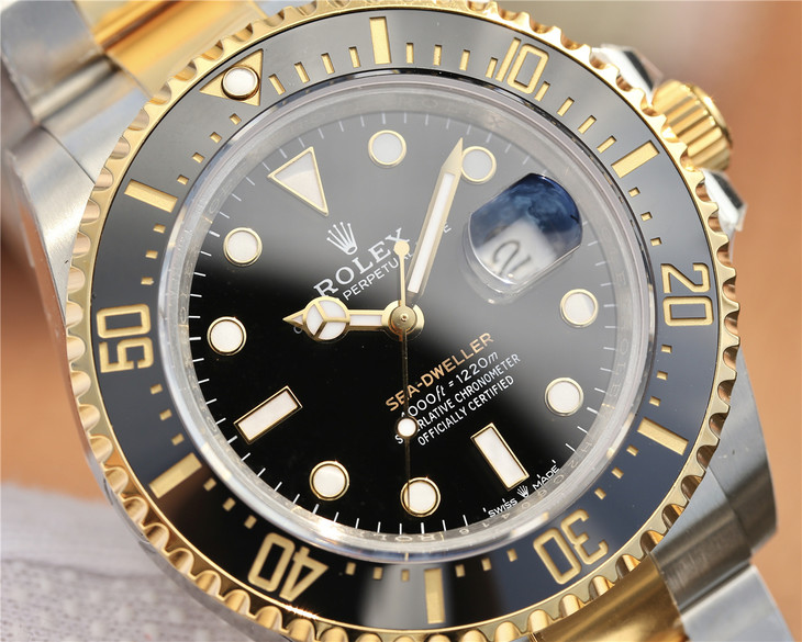 Rolex Sea-Dweller 126603 Black Dial