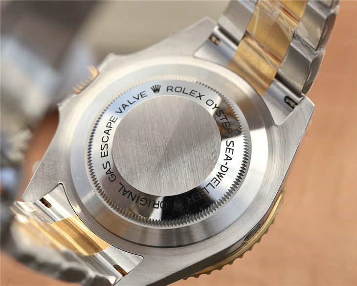 Rolex Sea-Dweller 126603 Case Back