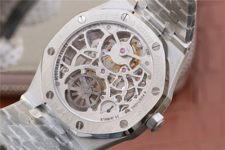 Audemars Piguet Royal Oak Tourbillon Crystal Back