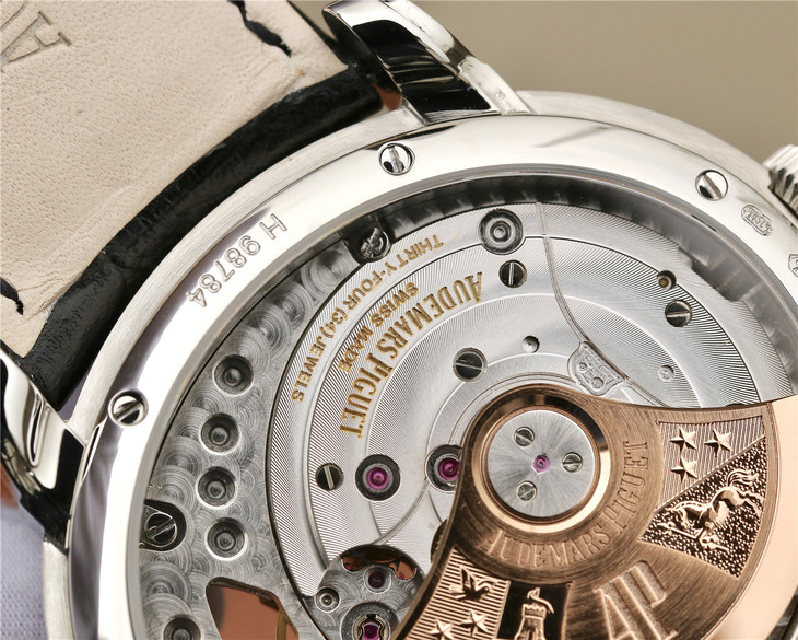 Golden AUDEMARS PIGUET Engravings