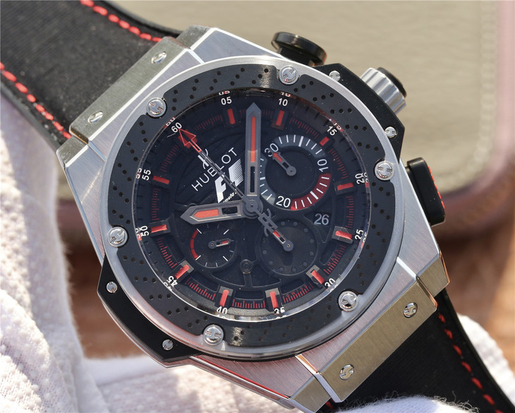Replica Hublot King Power F1 Black Dial