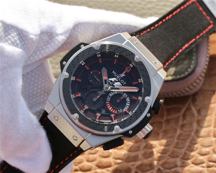 Replica Hublot King Power F1 Black Red