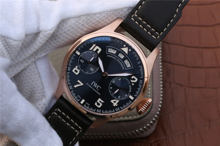 Replica IWC Big Pilot Le Petit Prince Rose Gold