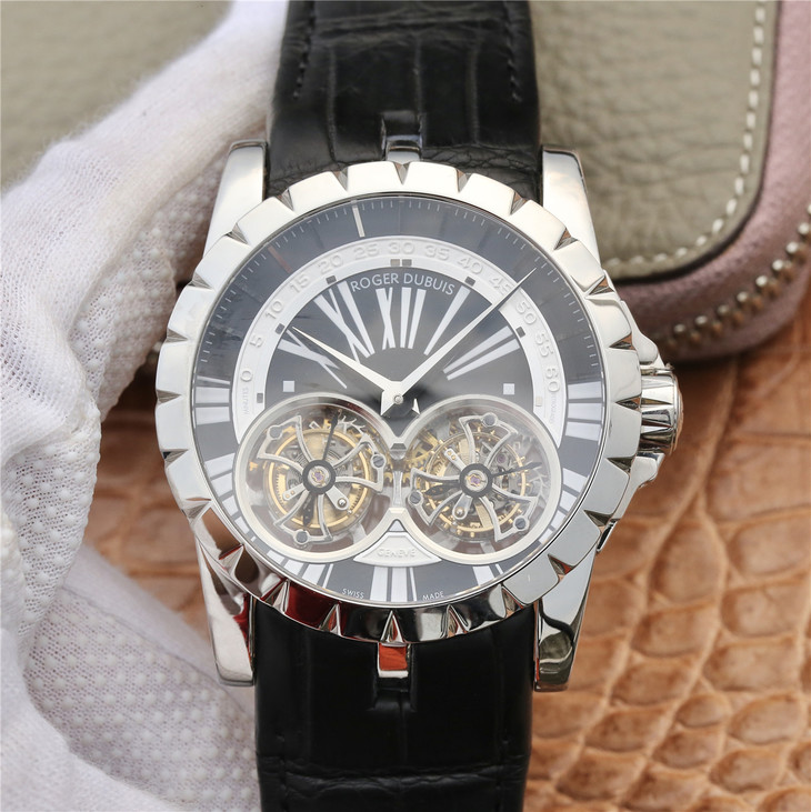 Replica Roger Dubuis Double Tourbillon