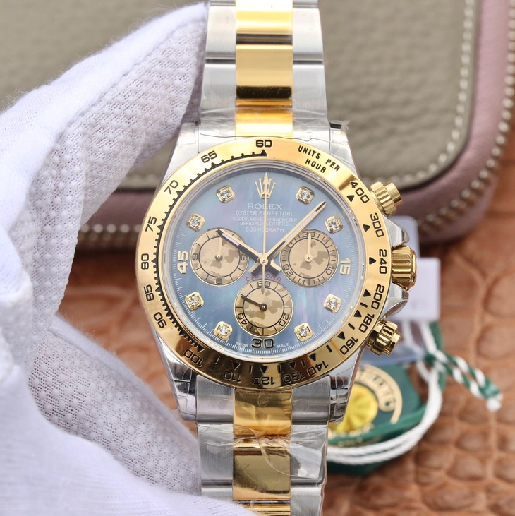 JH Factory Replica Rolex Daytona Two Tone
