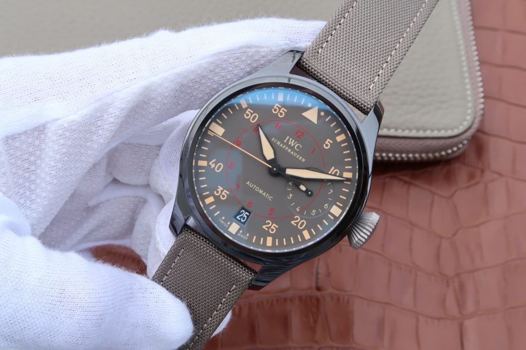 Replica IWC Big Pilot Top Gun Ceramic Watch