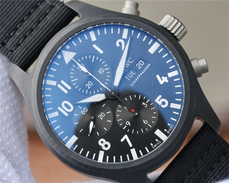 Replica IWC IW389101 Black Dial