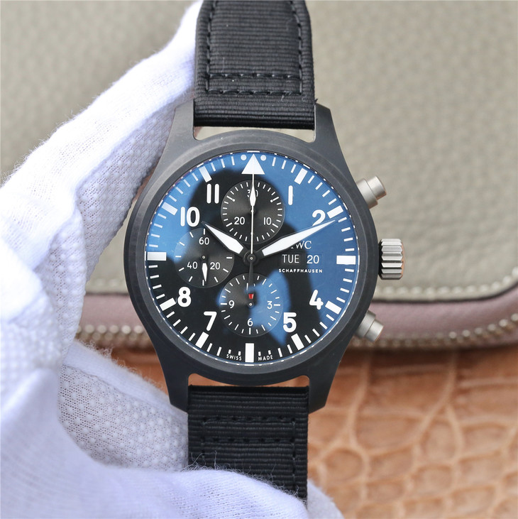 Replica IWC Top Gun Ceramic Black