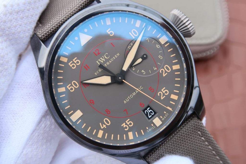 Replica IWC Top Gun Green Dial
