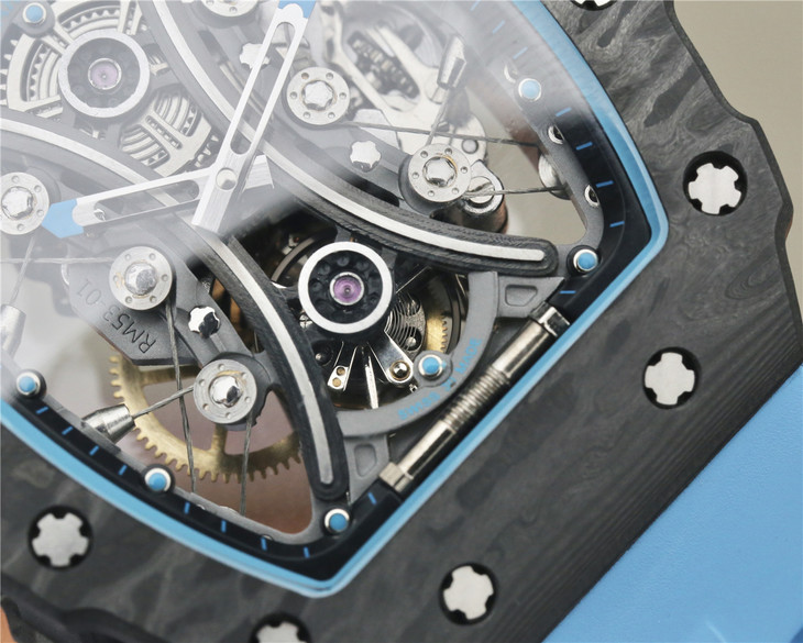 Replica Richard Mille RM53-01 Tourbillon Device