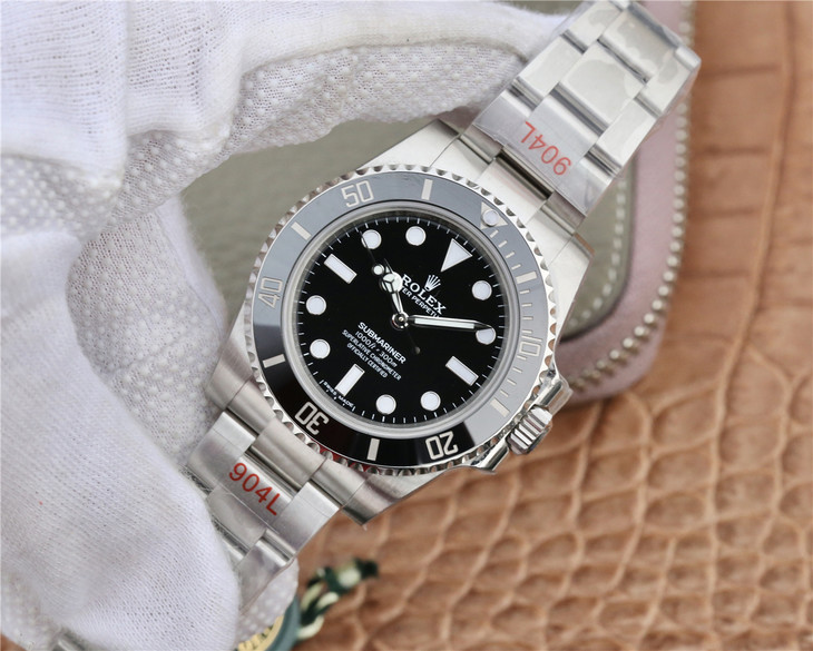 Replica Rolex Black Submariner No Date