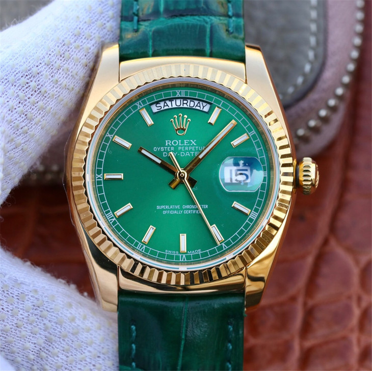 Replica Rolex Day-Date Green