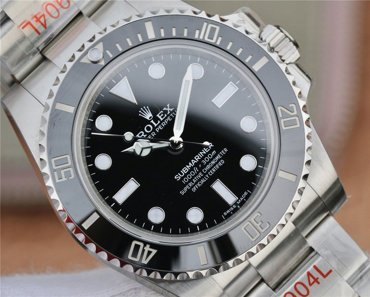 Replica Rolex Submariner Black Dial