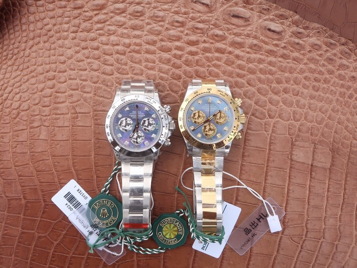 Rolex Daytona MOP Dial Watch Collection