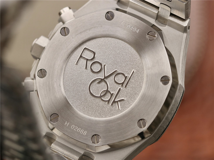 Royal Oak Engravings on Case Back