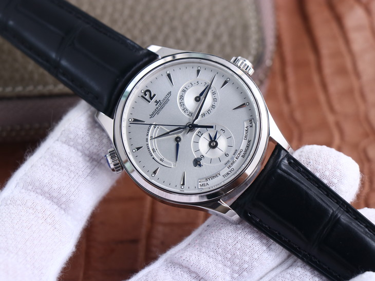 ZF Replica Jaeger LeCoultre Master Control Geographic