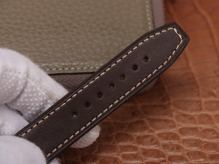 IWC Spitfire Brown Leather Strap