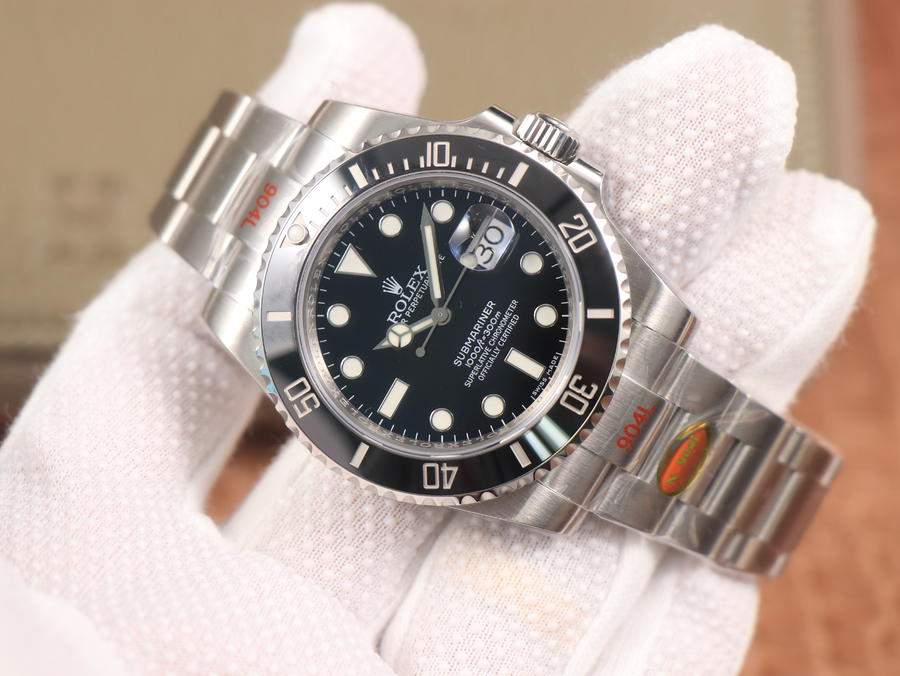 Noob V10 Rolex Submariner Black Replica