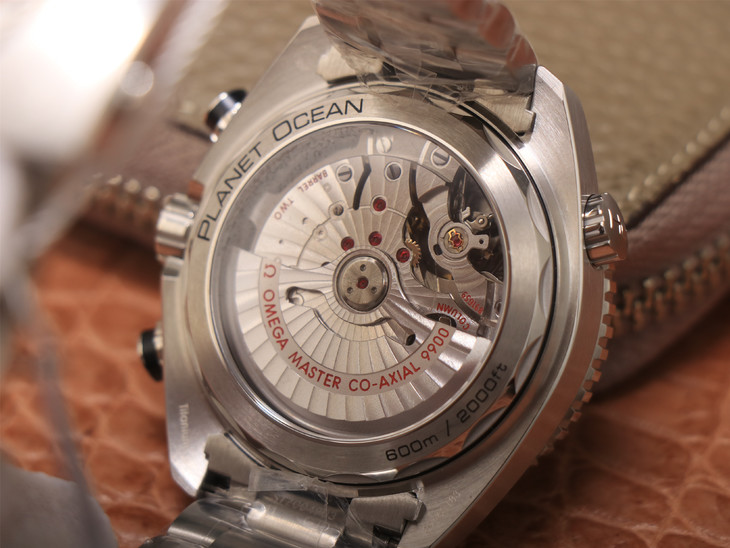 Omega Planet Ocean Chrono Crystal Back
