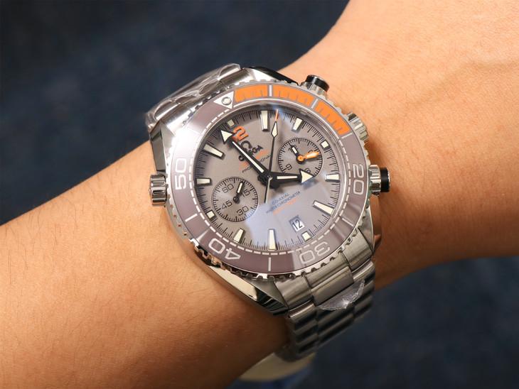 Omega Planet Ocean Wrist Shot