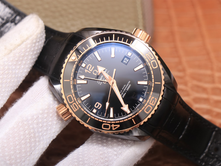 Replica Omega Deepsea King Black Ceramic
