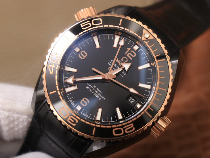 Replica Omega Deepsea King Black Dial