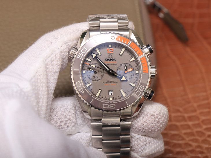 Replica Omega Planet Ocean Chrono Grey