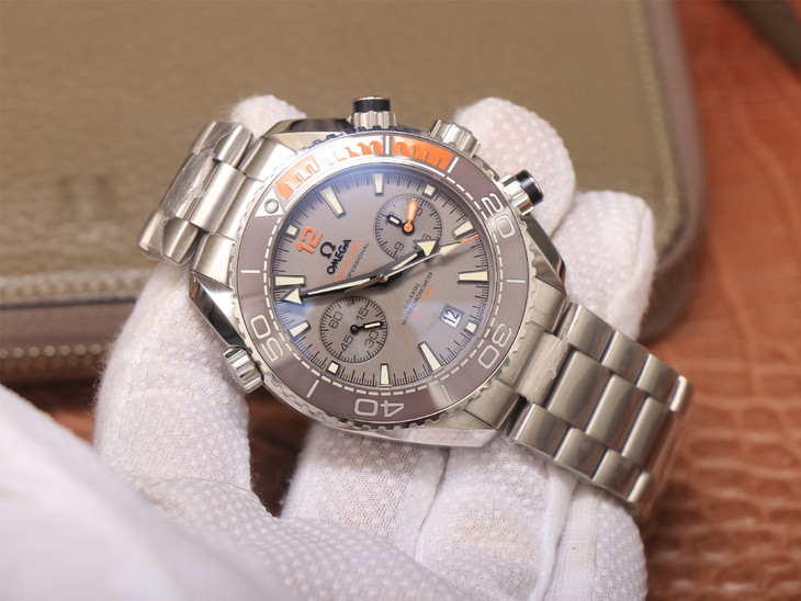 Replica Omega Planet Ocean Grey Orange