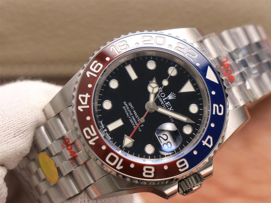 Noob Rolex GMT-Master II 126710 Black Dial