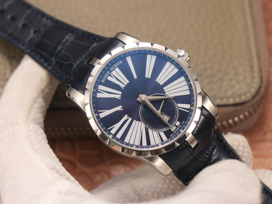 Replica Roger Dubuis Excalibur DBEX0535 Blue Watch