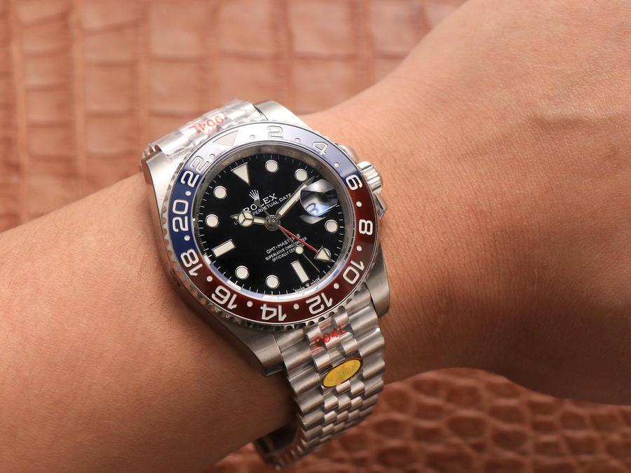 Rolex GMT-Master II 126710 Wrist Shot