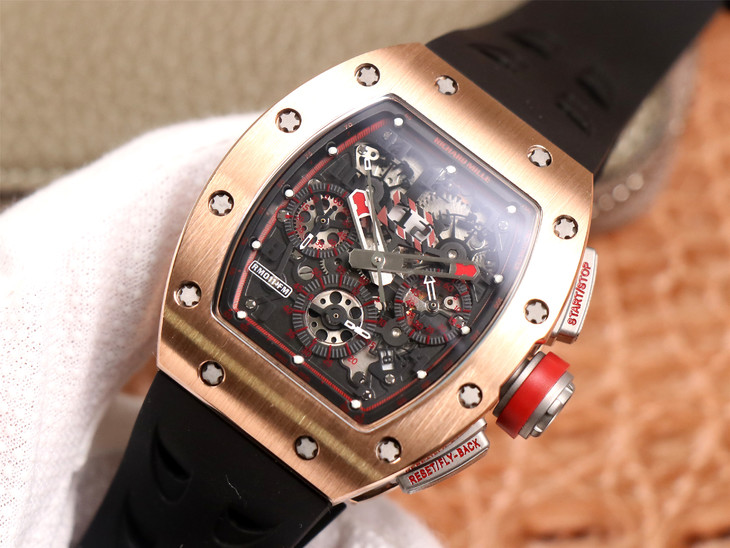 KF Factory Replica Richard Mille RM011-03 Flyback Chrono