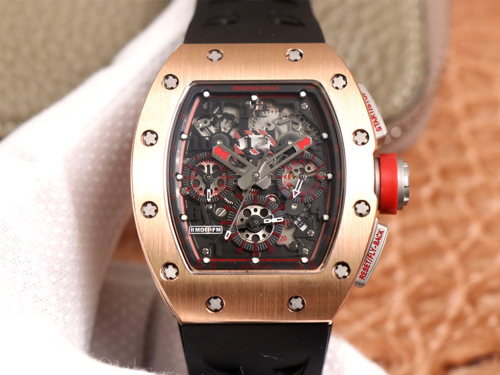 Replica Richard Mille RM011-03 Flyback Chrono