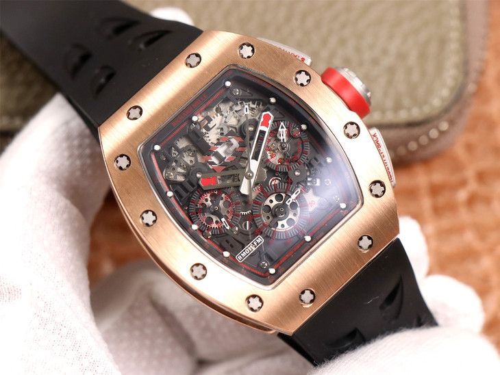 Replica Richard Mille RM011-03 Rose Gold