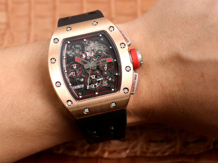 Replica Richard Mille RM011-03 Wrist Shot