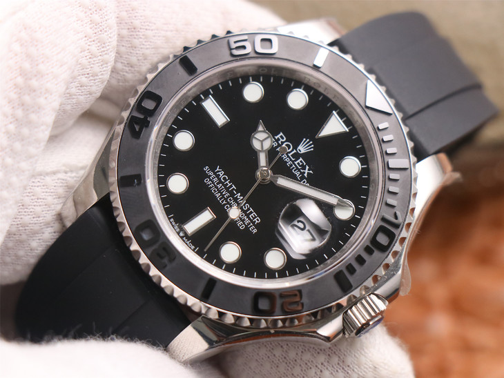 Rolex YachtMaster II 226659 Black Dial