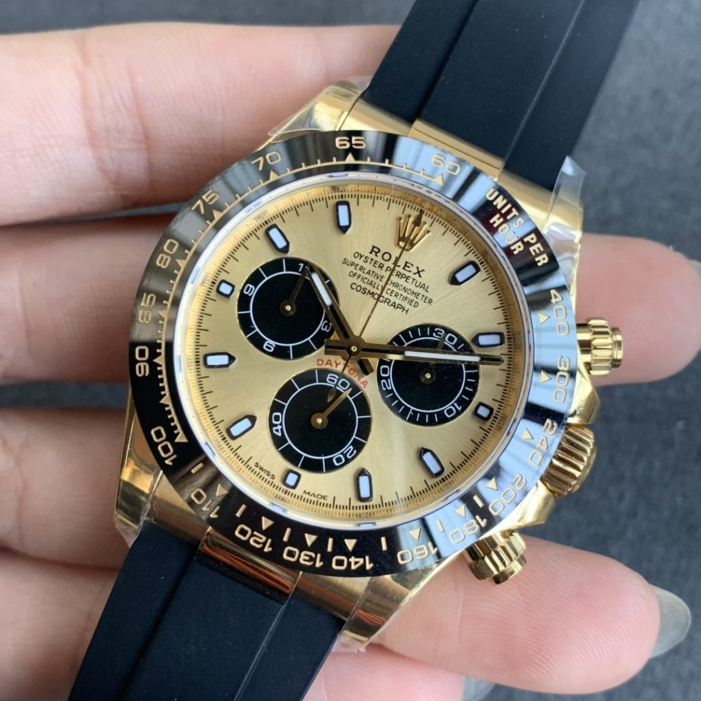 Replica Rolex Daytona 116618 Yellow Gold