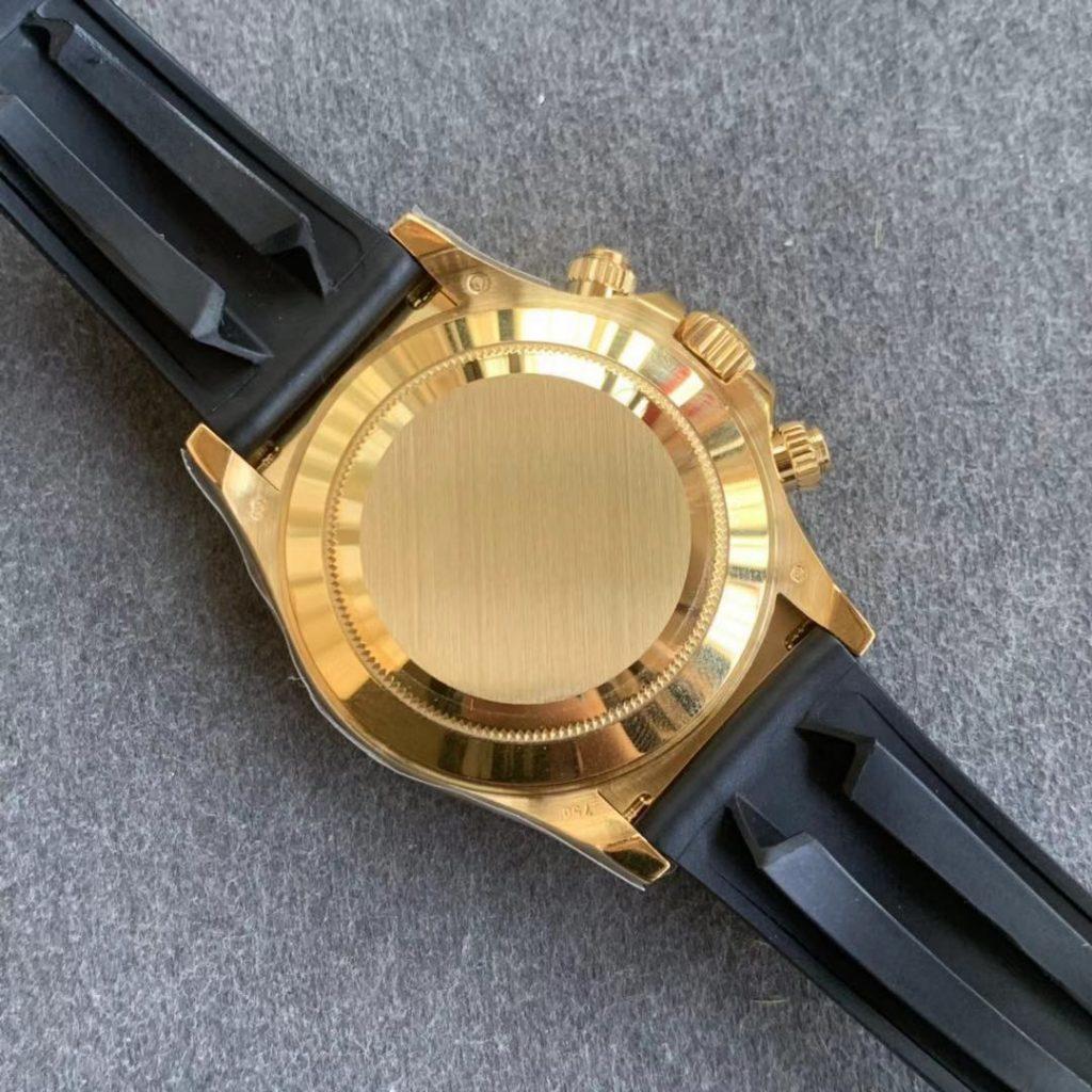 Replica Rolex Daytona 116618 Yellow Gold Case Back