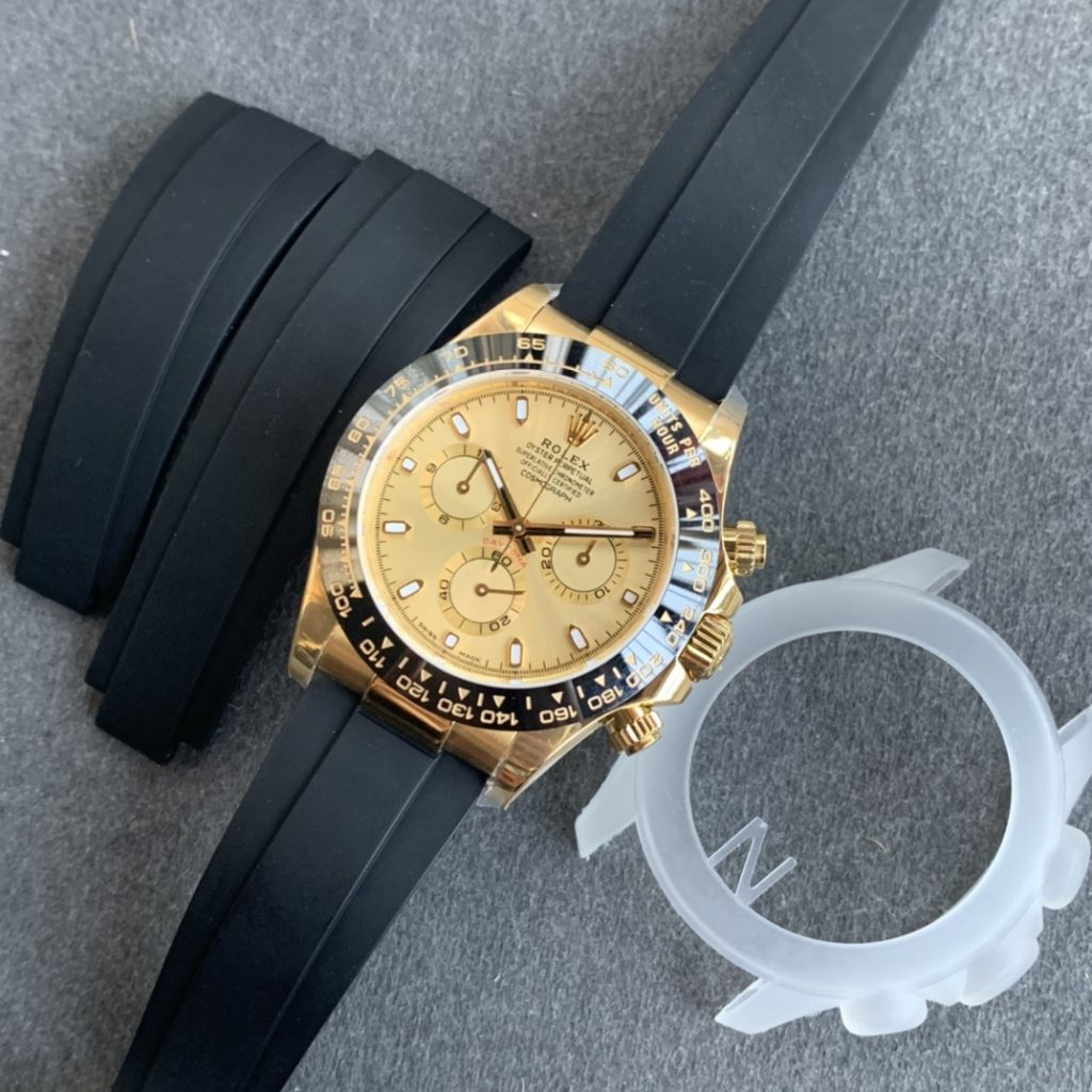 Replica Rolex Daytona Yellow Gold Dial