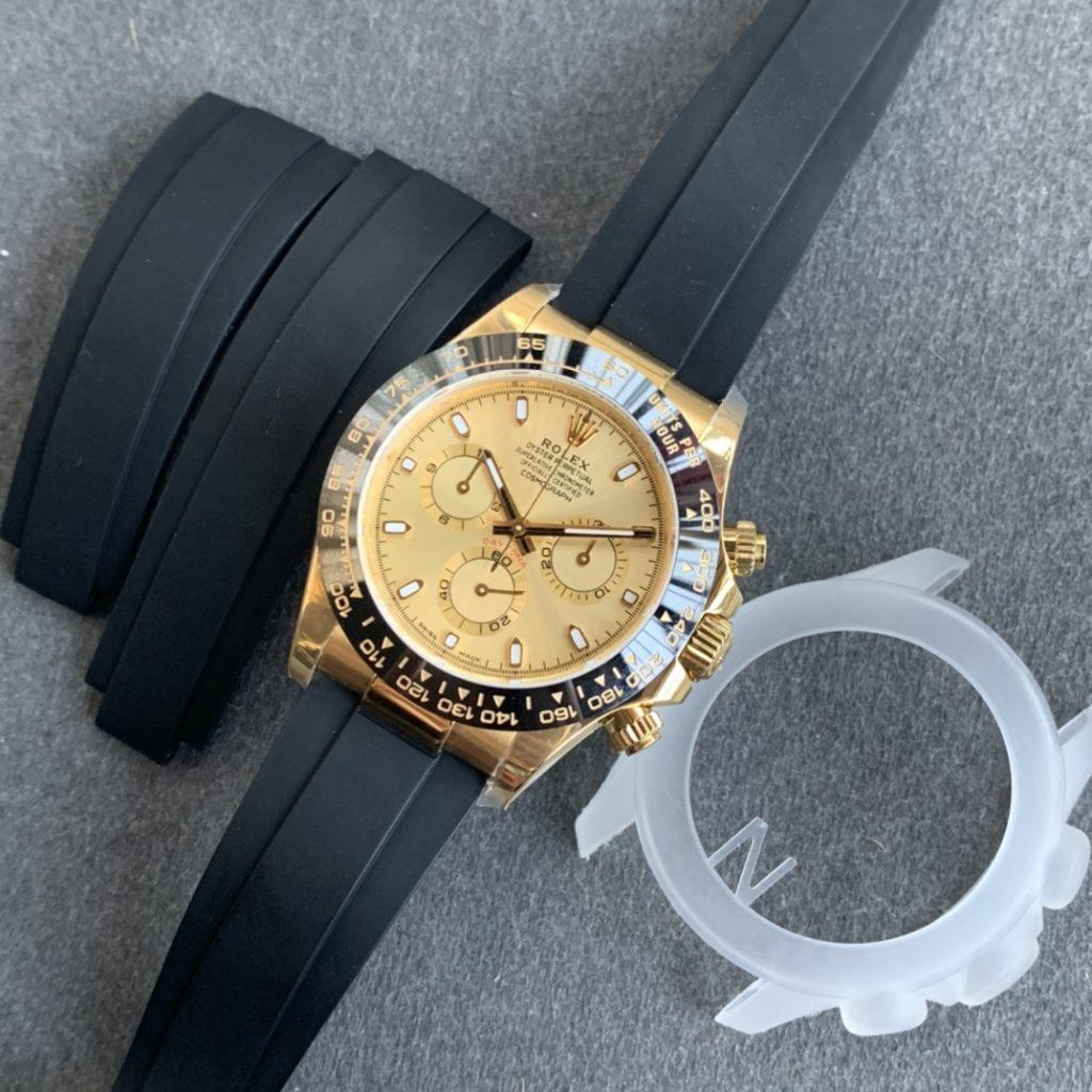 Replica Rolex Daytona Yellow Gold Dial