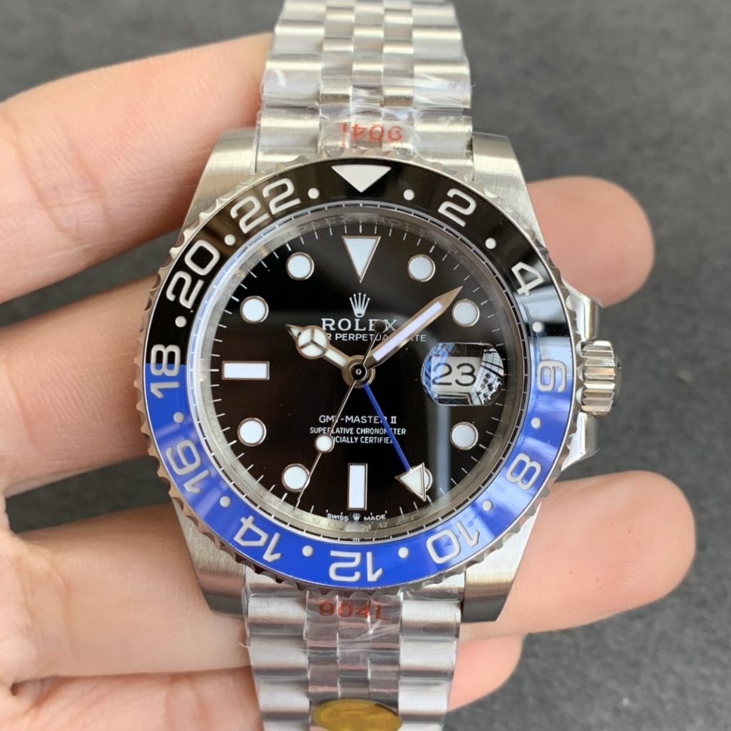 Replica Rolex GMT-Master II 126710 Batman