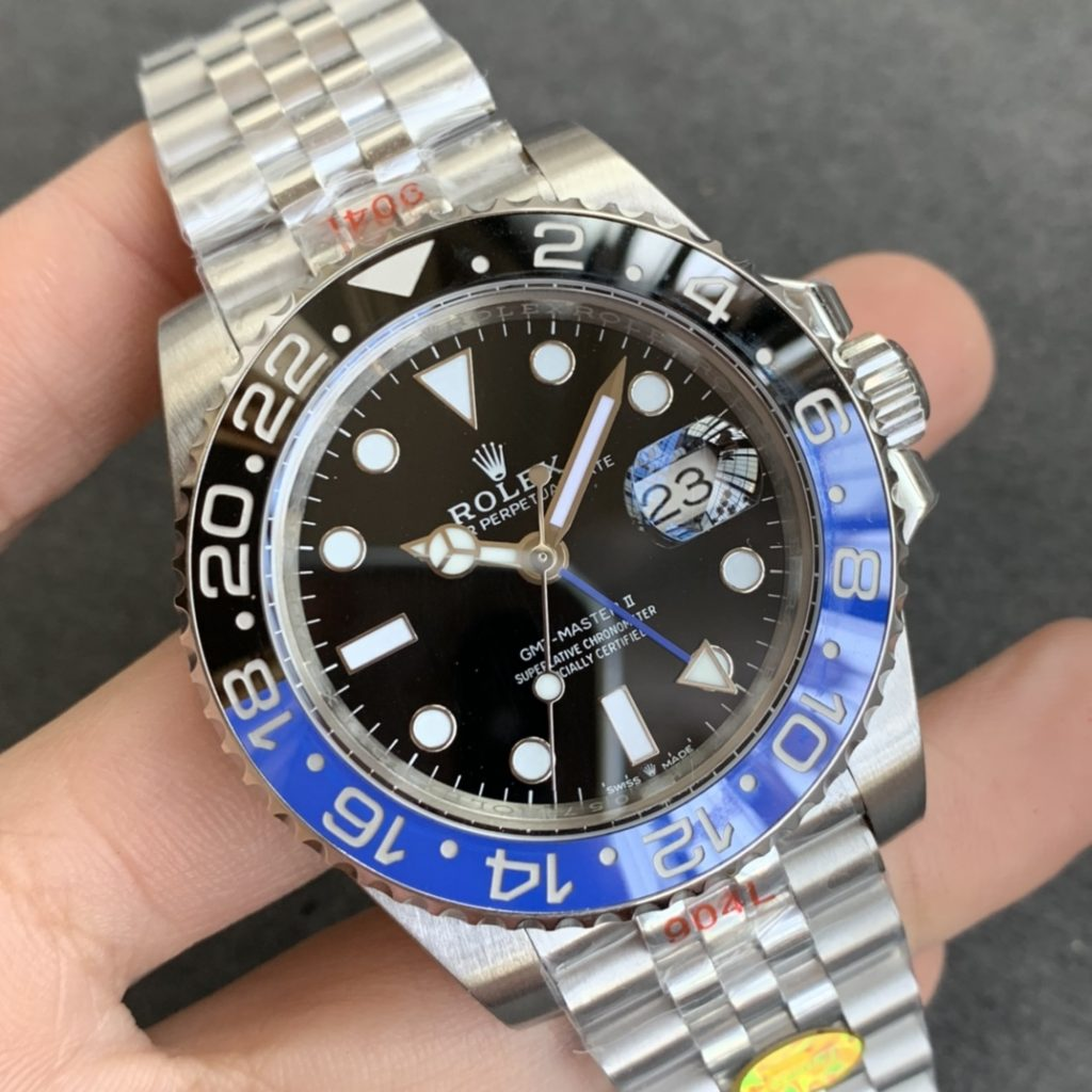 Replica Rolex GMT-Master II 126710 Black Blue