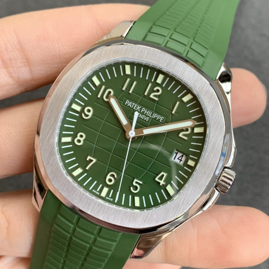 Replica Patek Philippe Aquanaut Green Watch