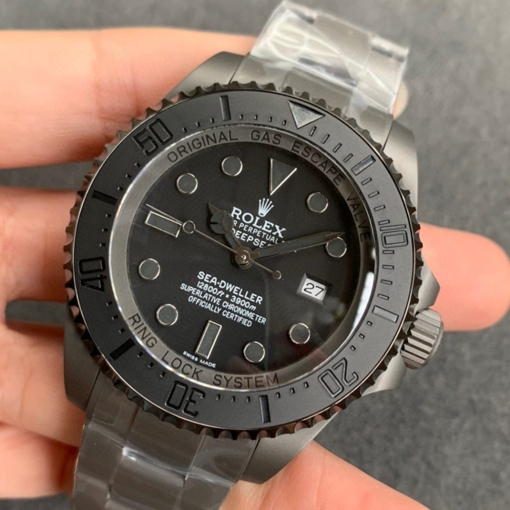 Replica Rolex Sea-Dweller Deepsea Black PVD