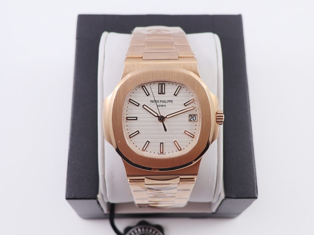 PPF Replica Patek Philippe 5711 Rose Gold