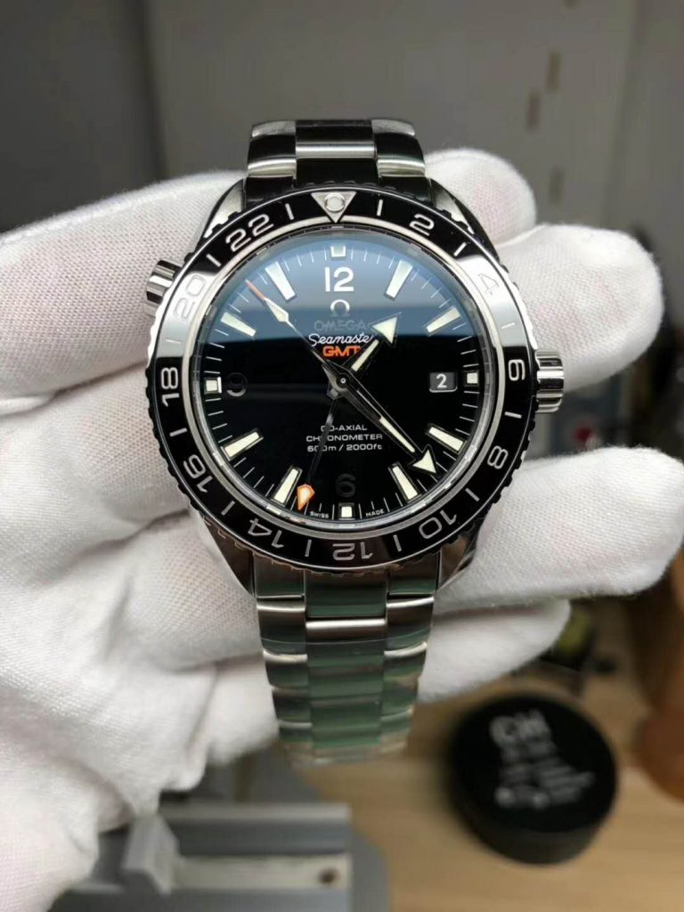 Replica Omega Planet 600M GMT Black