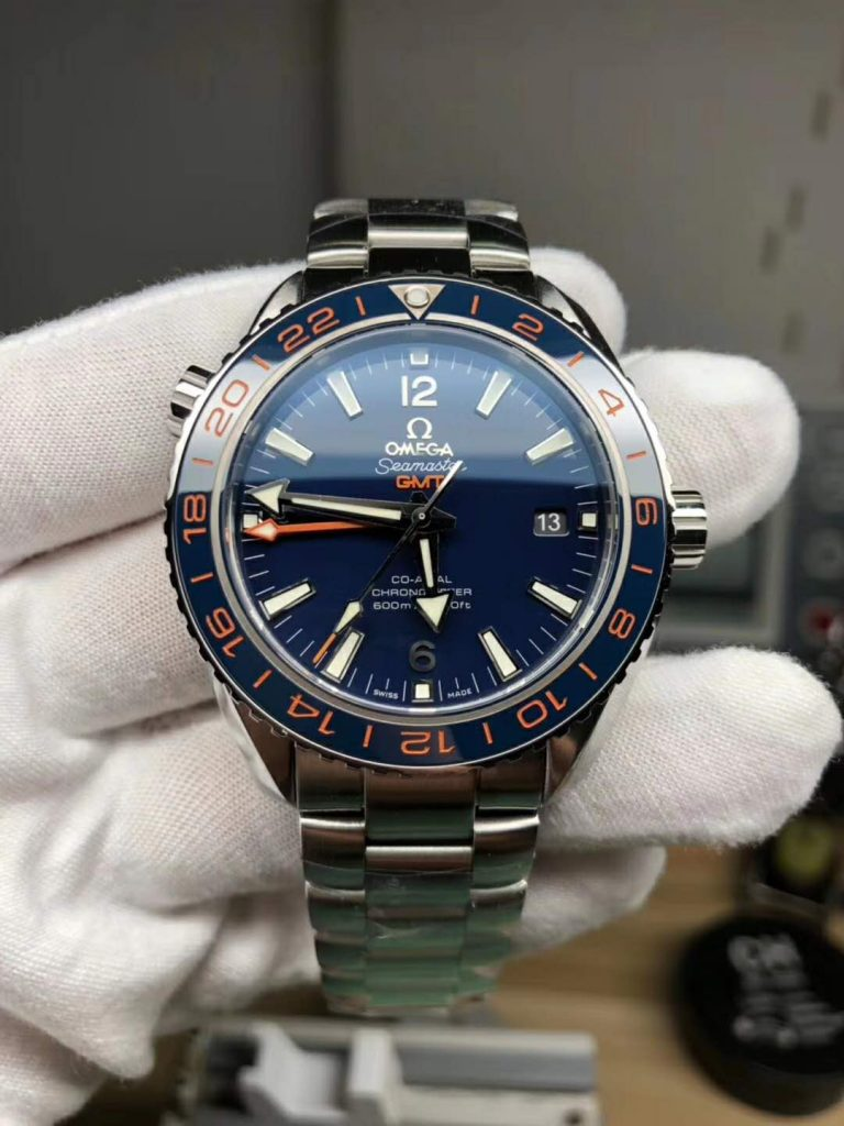 Replica Omega Planet 600M GMT Blue