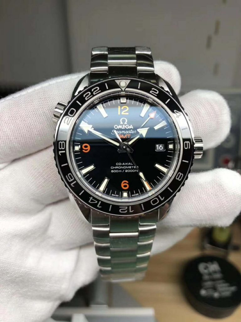 Replica Omega Planet 600M GMT Orange 6 9 12