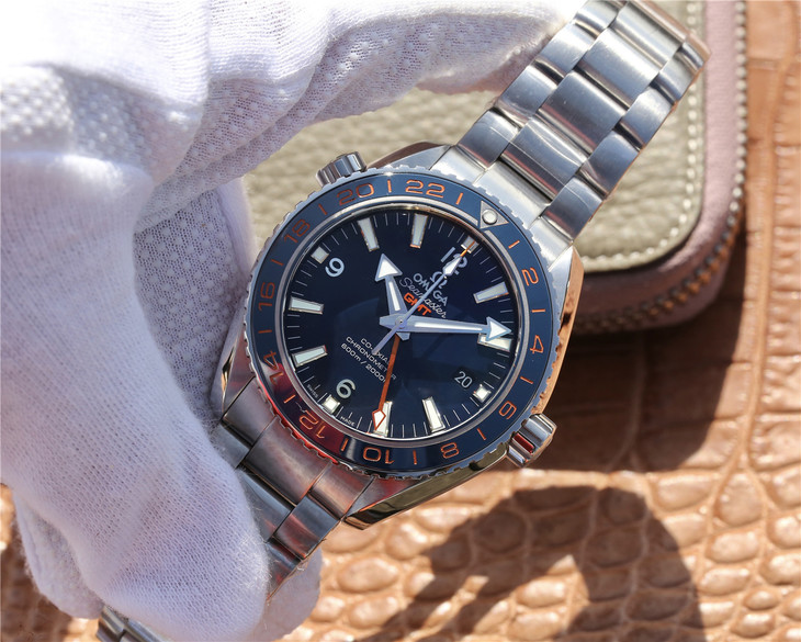 VSF Replica Omega Planet Ocean 600m Blue GMT